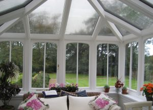 DIY crystal clear solar laminate for conservatories