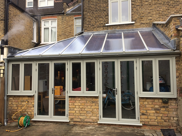 After the new conservatory roof panels have been fitted.