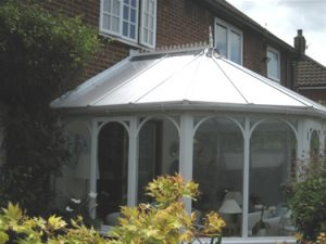 After: the completed Insu refurbished conservatory.