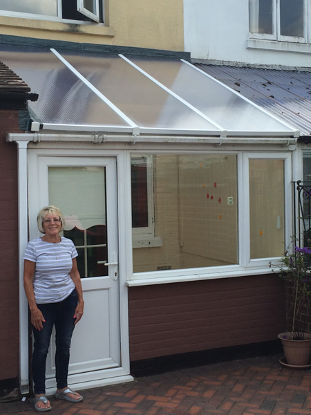 New conservatory roof panels