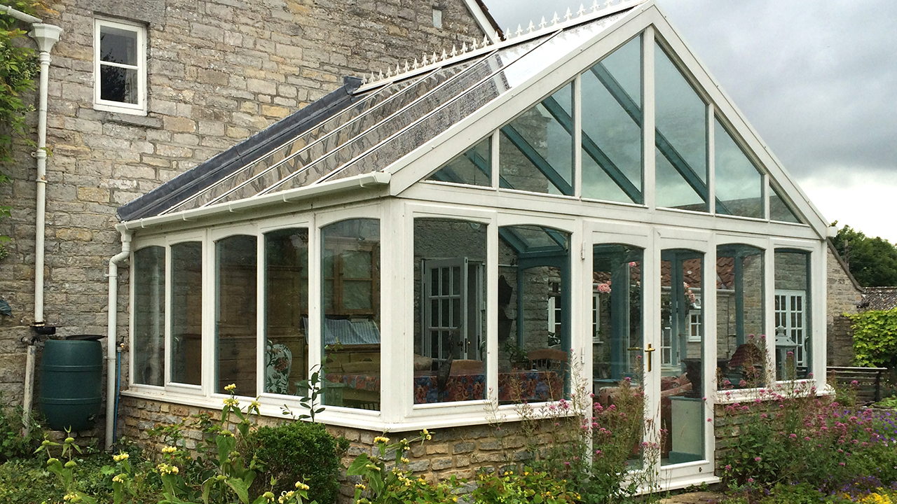 Conservatory too hot in the summer